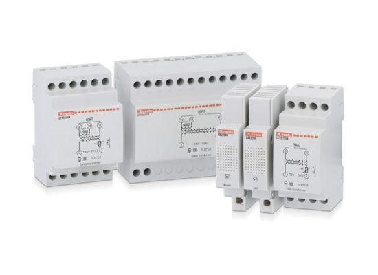 Suonerie, ronzatori e trasformatori modulari